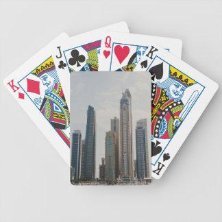 Dubai Marina architecture Bicycle Playing Cards