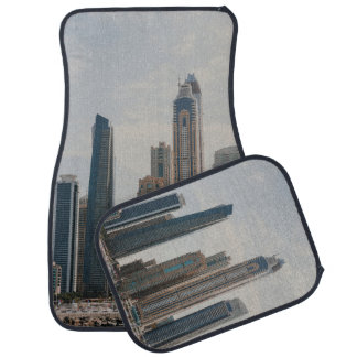 Dubai Marina architecture Car Mat