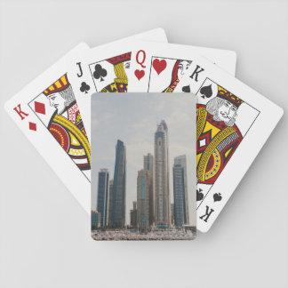 Dubai Marina architecture Playing Cards