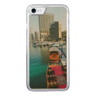 Dubai Marina Pier 7 Carved iPhone 8/7 Case