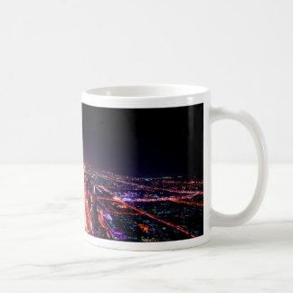 Dubai Night Skyline Coffee Mug