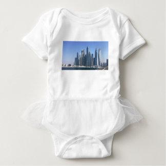 Dubai Sky Line Baby Bodysuit