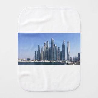 Dubai Sky Line Burp Cloth