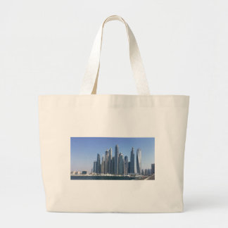 Dubai Sky Line Large Tote Bag