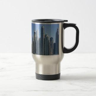 Dubai Sky Line Travel Mug