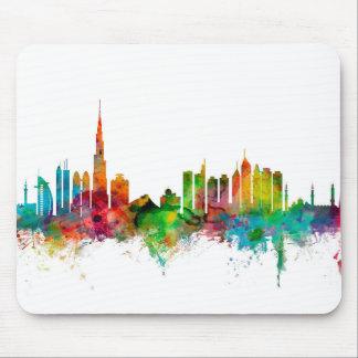 Dubai Skyline Mouse Pad