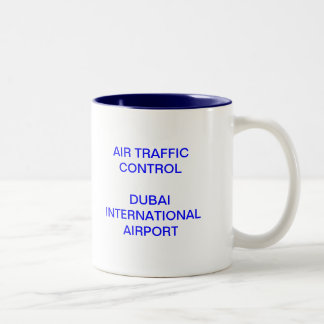 Dubai Tower Two-Tone Mug