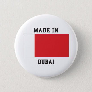 Dubai, UAE 6 Cm Round Badge