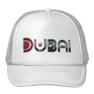 Dubai UAE Typography Elegant Text Only Cap