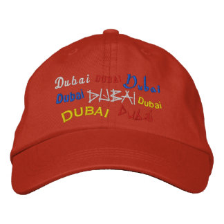 Dubai - United Arab Emirates Embroidered Hat