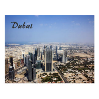 Dubai View Postcard