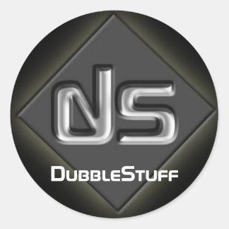 DubbleStuff Logo Sticker