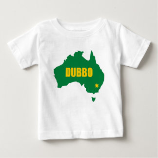 Dubbo Green and Gold Map Tshirts