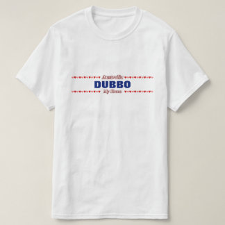 DUBBO - My Home - Australia; Red & Pink Hearts T-Shirt