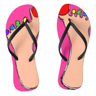 Dubious Feet Thongs
