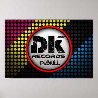 Dubkill Records Poster