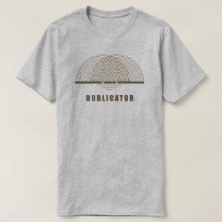 Dublicator [Diffraction] T-Shirt - Brown