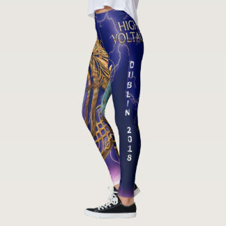 DUBLIN 2018 High Voltage Leggings