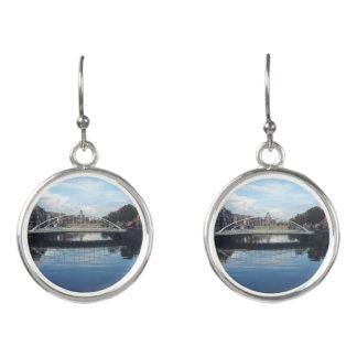 Dublin Bridge Landscape Drop Earrings