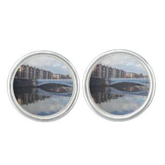 Dublin Bridge Reflection Cufflinks