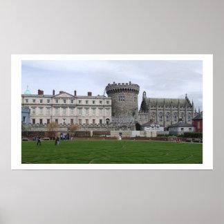 Dublin Castle Ireland Poster