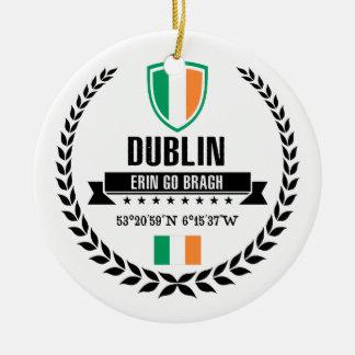 Dublin Ceramic Ornament