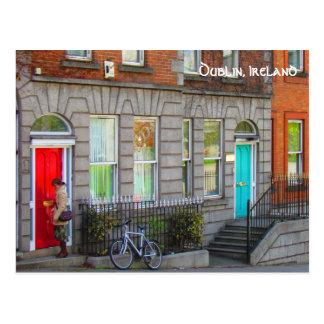 Dublin doors ~Dublin, Ireland Postcard