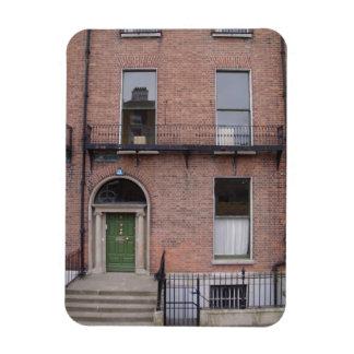 Dublin downtown building magnet