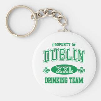 Dublin Drinking Team Keychain