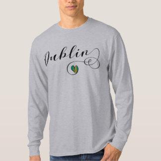 Dublin Heart T-Shirt, Ireland T-Shirt