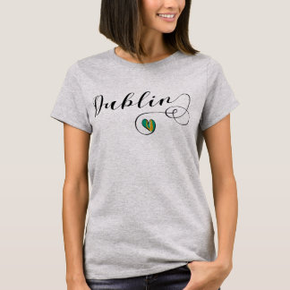 Dublin Heart Tee Shirt, Ireland