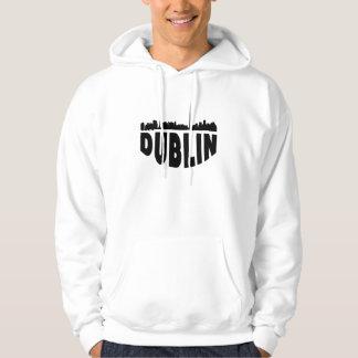 Dublin Ireland Cityscape Skyline Hoodie