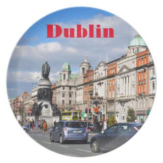 Dublin. Ireland Dinner Plates
