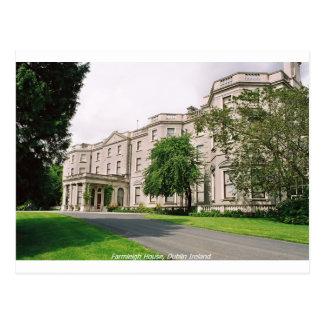 Dublin Ireland, Farmleigh House, Phoenix Park Postcard