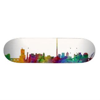Dublin Ireland Skyline Skate Board Deck
