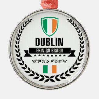 Dublin Metal Ornament