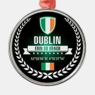 Dublin Metal Ornament