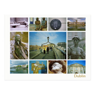 Dublin multi-image postcard