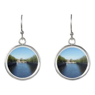 Dublin River Liffey Bridge Drop Earrings