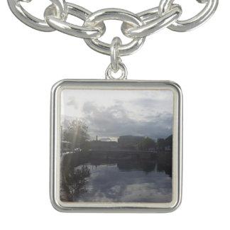 Dublin River Sunrise Charm Bracelet