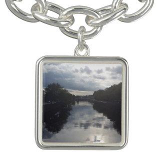 Dublin River Sunset Charm Bracelet