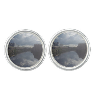 Dublin Riverbank Cufflinks