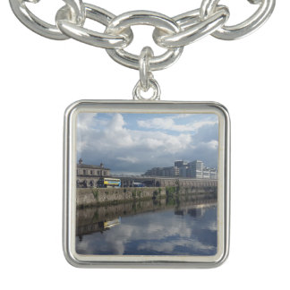 Dublin Riverbank Reflection Charm Bracelet