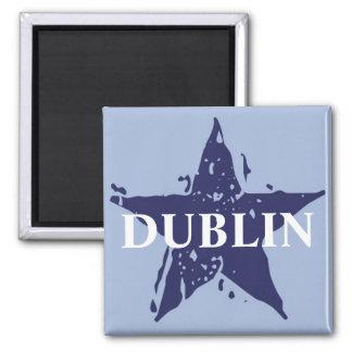 DUBLIN star magnet