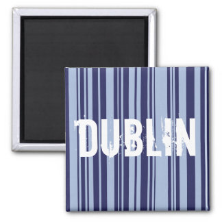 Dublin stripes magnet