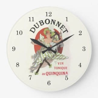 Dubonnet Lady Wall Clock