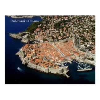 Dubrovnik - Croatia postcard