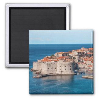 Dubrovnik, Croatia Square Magnet