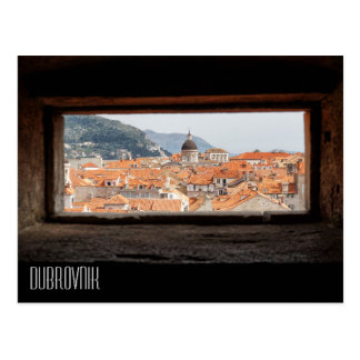 Dubrovnik from the City Walls Postcard