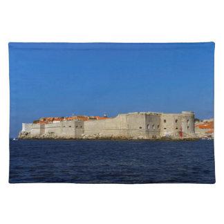Dubrovnik old city, Croatia Placemat